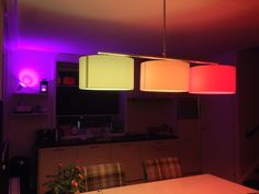 Philips Hue and LivingColors color my kitchen