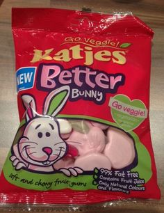 Vegetarian Sweets - Katjes Better Bunny