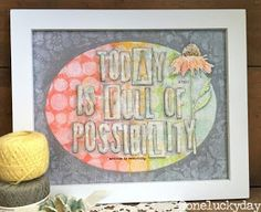 One Lucky Day: Possibilities