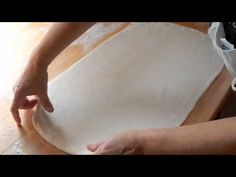 Puff Pastry Dough, step by step how to laminate and recipe