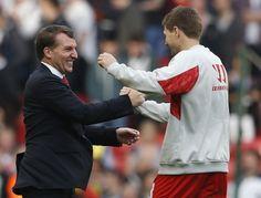 Brendan Rodgers and Steven Gerrard