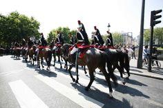 Garde républicaine. Défilé du 14 Juillet 2013