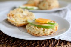 Apple cheddar biscuits from Annie's Eats: She suggests biscuits as a perfect food to bake with your kids because of all the hands-on steps involved in the process. I loved her suggestion of using a fun shape for the cutter--her son used a star!