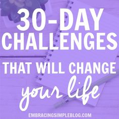 If you want to reach your goals and improve yourself, these 30-day challenge ideas that will change your life are a must-see!