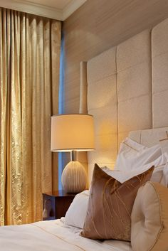 Wall color & texture The Residences at The Ritz-Carlton, Toronto. Interior design by Munge Leung. Bedroom Styles, Bedroom Colors, Bedroom Decor, Love Your Home, Living Styles, Luxurious Bedrooms, Contemporary Design, House Design, Interior Design