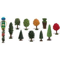 Toobs-arbres Miniatures en plastique: Amazon.fr: Jeux et Jouets