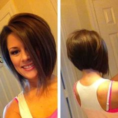 Inverted Graduated Bob