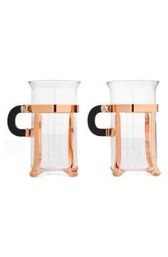 Bodum 'Chambord Classic' Glass Mugs (Set of 2) | No