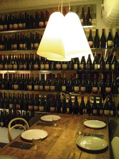 Restaurante Cata 181, diseño Lagranja: cien eclécticos metros cuadrados para un especialista en vinos.