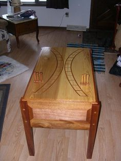 Cribbage board table