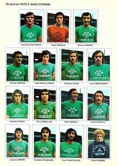 Soccer Cards, Saint Etienne, Herve, Vintage Football, Big Men, Football Team, France, Adidas, Retro