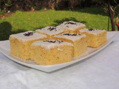Anne Karins Mat & Vin – Saftig sitronkake i langpanneform Form, Sweets, Baking, Cake, Party, Desserts, Recipes, Tailgate Desserts, Pie