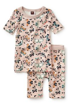 aae287e4a Tea Collection 'Teofila' Fitted Two-Piece Pajamas (Toddler Girls, Little  Girls & Big Girls) | Nordstrom