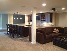 Novi Finished Basement - traditional - basement - detroit - Majestic Home Solutions LLC
