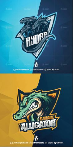 Aligator monster E sports mascot logo , Best game graphic design, Top gaming in.- Aligator monster E sports mascot logo , Best game graphic design, Top gaming inspiration ideas inspiration E Sports, Logo Sport, Sports Team Logos, Game Logo Design, Brand Identity Design, Branding Design, Gaming Logo, Esports Logo, Professional Logo Design