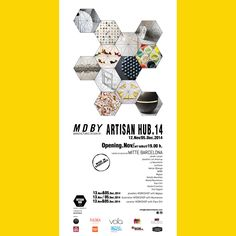 EXHIBITION'S POSTER ARTISAN HUB'14