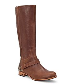 UGG Channing Riding Boots .. I will wear them forever .. The more I have worn them, the more broken in and aged they look .. perfection .. Comfy and warm!