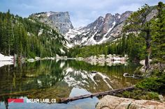 Dream Lake Rocky Mountain National Park - OutThere Colorado