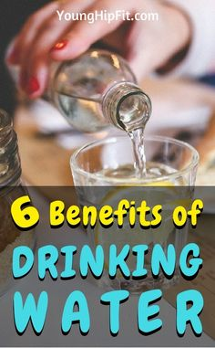 Benefits of drinking water. Weight loss, mood, intelligence, and more! Improve yourself inside and out. Learn 6 incredible health benefits of water by reading this article!
