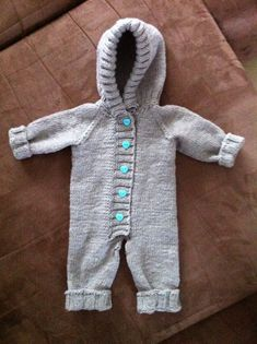 Baby Romper Pattern Free, Free Pattern, Baby Knitting Patterns, Crafts To Do, Fun Projects, Knit Crochet, Rompers, Handmade Gifts, Kids