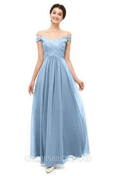 b0c8548f288b ColsBM Lilith Bridesmaid Dresses Off The Shoulder Pleated Short Sleeve  Romantic Zip up A-