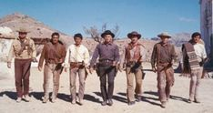Western Costumes, Ron Perlman, Robert Fuller, The Magnificent Seven, Westerns, Image, Wine, Western Outfits