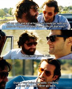 best movie quotes of all time about love Hangover Movie Quotes, Movie Memes, Funny Movies, Comedy Movies, Good Movies, The Hangover, Hangover Series, Favorite Movie Quotes, Best Love Quotes