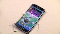 Samsung Galaxy - Samsung Galaxy S6 Edge Hammer & Knife Scratch Test full