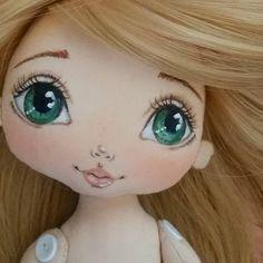 #textildolls #interiordoll ... love her eyes