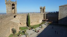 Fortareata din Montalcino Notre Dame, Travel Inspiration, Building, Magick, Buildings, Construction