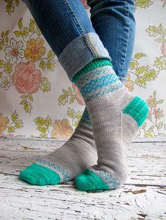 Ravelry: Emlyn socks pattern by Rachel Coopey