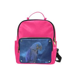 Hyacinth Macaw Campus backpack/Large. FREE Shipping. FREE Returns. #lbackpacks #parrots