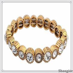Encontre mais Pulseira Informações sobre Vintage clássico cristal pulseiras pulseiras moda Elastic flor Beads pulseiras 2014 mulheres jóias, de alta qualidade fonte de talão, saphire jóias China Fornecedores, Barato tubo de talão de spesen Jewelry  em Aliexpress.com