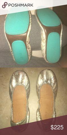 Size 8 Romantic Blush Tieks Worn twice. Love them but they are too big. Tieks Shoes Flats & Loafers