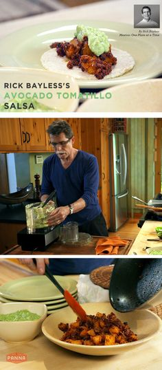 Celebrity Chef Rick Bayless shares his secret Avocado Tomatillo Salsa recipe