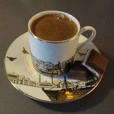 I've heard Turkish coffee is quite amazing. It would be nice to sit in an Instanbul cafe and sip away. #monogramsvacation