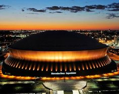 Gotta see the Superdome, New Orleans, Louisiana and the mighty Saints WhoDat New Orleans Saints, New Orleans Louisiana, Louisiana Swamp, New Orleans Superdome, New Orleans History, New Orleans French Quarter, New Orleans Travel, Saints Football, Who Dat
