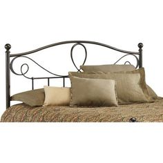 $160 - Fashion Bed Group Sylvania King Headboard, French Roast