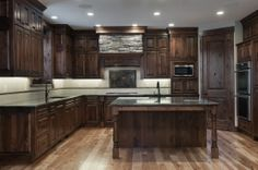 Kitchen.  Home built by Cameo Homes Inc. in #JeremyRanch, #ParkCity, #Utah.