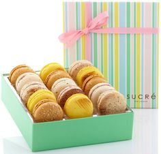 New Orleans Macaron Collection ~ When in NOLA, stop by Sucre.