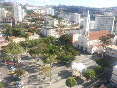 Praça Silviano Brandão em Viçosa, MG