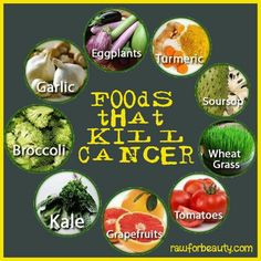 Foods that kill cancer