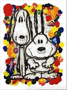Tom Everhart Wait Watchers Hand Pulled Lithograph Signed Numbered Ltd Edition