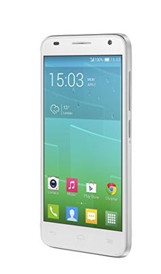 Alcatel One Touch Idol 2 Mini S – Smartphone libre Android (pantalla 4.5″, cámara 8 Mp, 4 GB, Quad-Core 1.2 GHz, 1 GB RAM), blanco (importado)