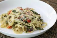 Asparagus With Pasta -