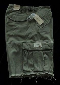 NWT Mens Ralph Lauren Denim & Supply Sumo Military Cargo Green 33 $89.50