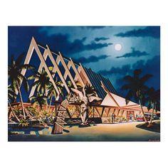 Vintage Tiki, Vintage Ads, Vintage Shops, Vintage Graphic, Vintage Hawaii, Vintage Travel, Mod Pool, Tiki Hawaii, Tiki Art