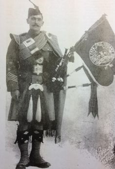 Pipe Major John Wilson MM led the Tyneside Scottish over the top on the 1st Day of the Somme - and survived