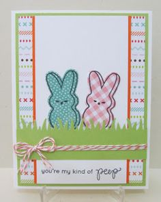Savvy Handmade Cards: My Kind of Peep Card
