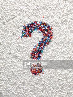 Foto de stock : Question Mark Pills